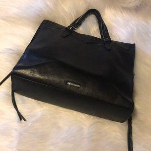 Lovely Rebecca Minkoff black leather bag
